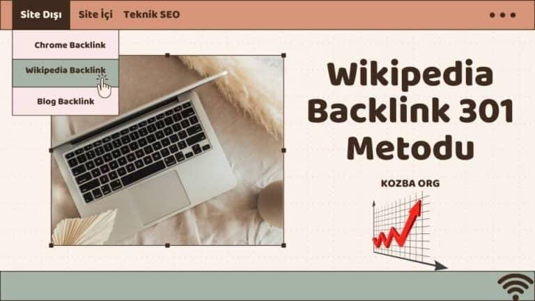 Wikipedia Backlink Nasıl Alınır?